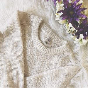 A New Day Fuzzy Pullover Sweater